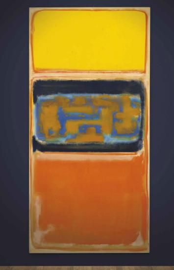 Mark Rothko, No. 1 (1949), via Christie's