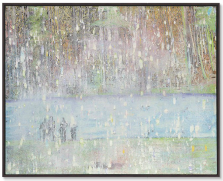Peter Doig, Cobourg 3 + 1 More (1994), via Christie's