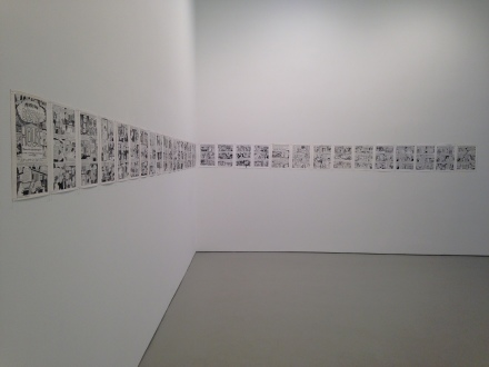 Aline Kominsky-Crumb and R. Crumb, Drawn Together (Installation View)