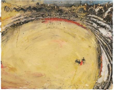Miquel Barceló, Muletero (1990), via Phillips