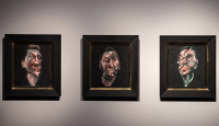 Francis Bacon triptych of George Dyer, via Guardian