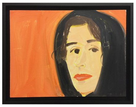 Alex Katz, Vivien (2016), via Peter Blum