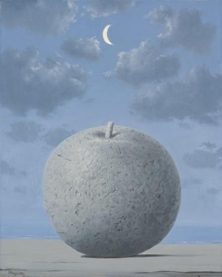 Rene Magritte, Souvenir de voyage (1962-63), via Sotheby's