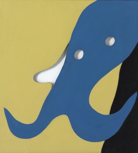 Jean Arp, Homme-Moustache (1925), via Sotheby's