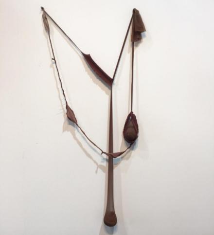 Senga Nengudi at Levy Gorvy and Thomas Erben, via Art Observed