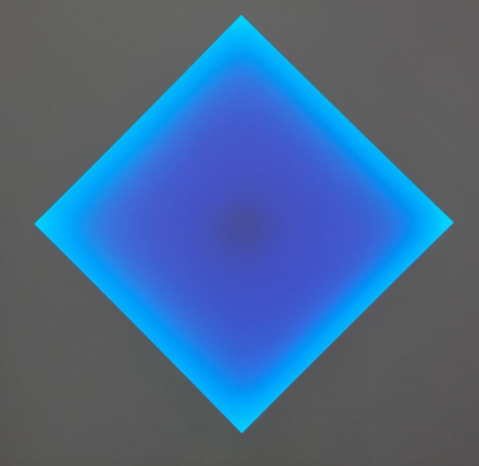 James Turrell at Kayne Griffin Corcoran, via Art Observed