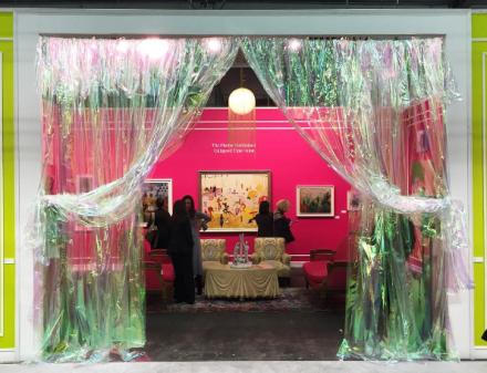 Jeffrey Deitch's Florine Stettheimer Collapsed Time Salon, via Art Observed