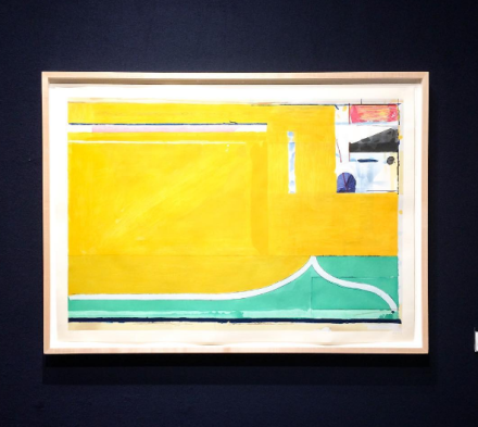 Richard Diebenkorn at Van Doren Waxter, via Art Observed