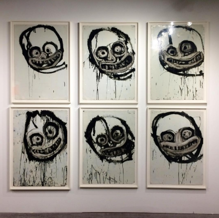 Joyce Pensato at Petzel, via Art Observed