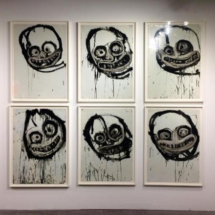 Joyce Pensato at Petzel, via Art Observed
