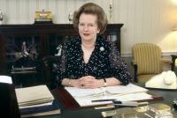 Margaret Thatcher, via Art News