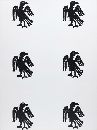 Christopher Wool, Untitled (1989), via Phillips