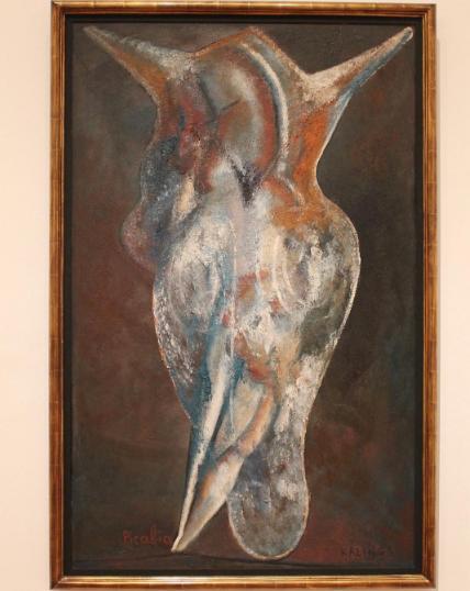 Francis Picabia, Kalinga (1946), via Art Observed