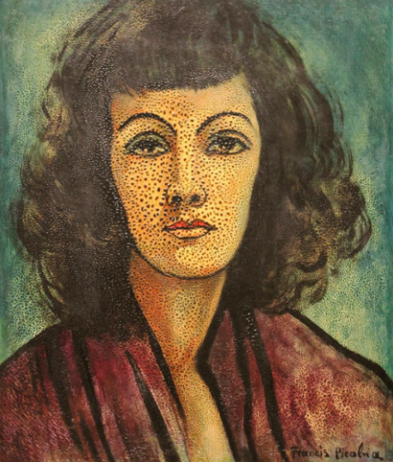Francis Picabia, Portrait of a Woman (1935), via Art Observed