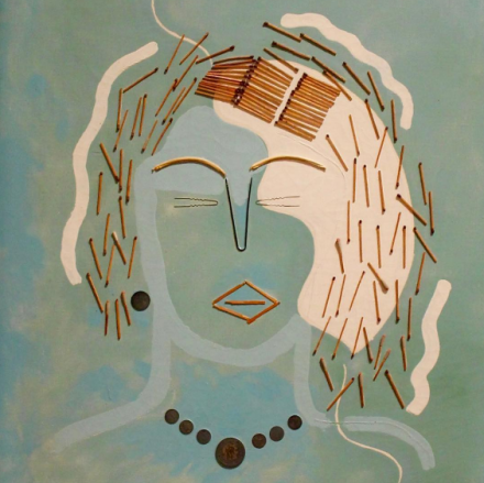 Francis Picabia, Match Woman (1924-25), via Art Observed