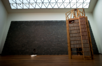 Theaster Gates at National Gallery, via NYT