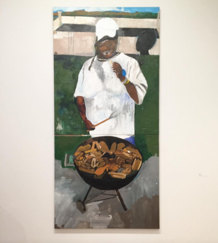 Henry Taylor, The 4th (2012 - 2017), via Art Observed
