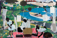 Kerry James Marshall, Past Times, 1997, via The Guardian