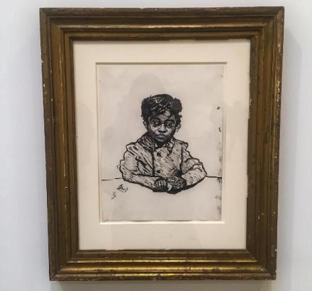 Alice Neel, Georgie Arce (1950-1958), via Art Observed