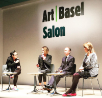 Clare McAndrew presents her report at Art Basel Hong Kong, via Art Observed