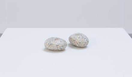 Vija Celmins, Two Stones (1977/2014-2016)