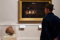 Metropolitan Museum rehang, via NYT