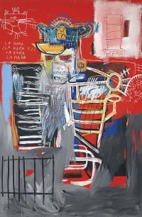Jean-Michel Basquiat, La Hara, via Christie's