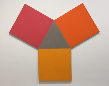 Jeremy Moon, Origami (1967), via Art Observed