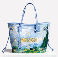 Van Gogh bag by Jeff Koons, via Louis Vuitton