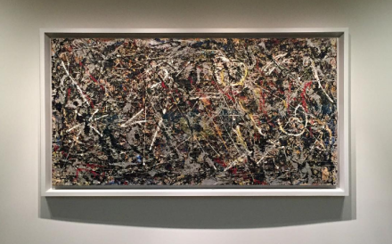 Jackson Pollock, Alchemy (1947), via Art Observed