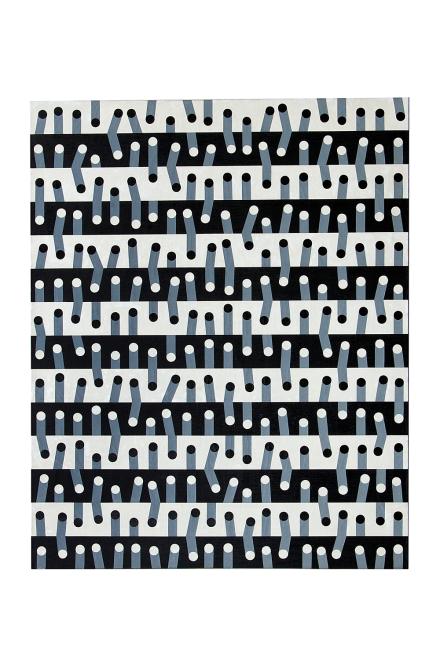 Tatsuo Kawaguchi, Work 66- (1966), via Kayne Griffin Corcoran