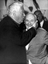 Calder and Miro, via NYT