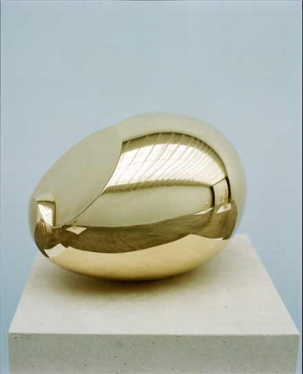 Constantin Brancusi. The Newborn. Version I (1920), via Paul Kasmin