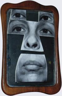 Geta Bratescuu, Autoportret în oglindă, via Art News