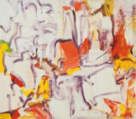 Willem de Kooning, Untitled II (1980), via Phillips