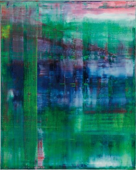 Gerhard Richter, Abstraktes Bild (811-1) (1994), via Phillips