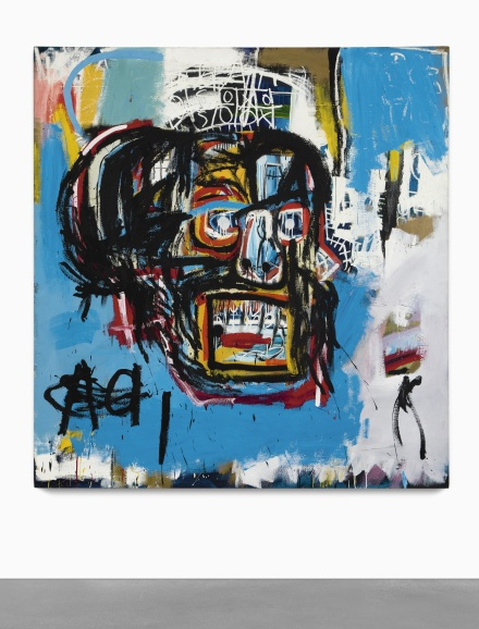 Jean-Michel Basquiat, Untitled (1982), via Sothebys