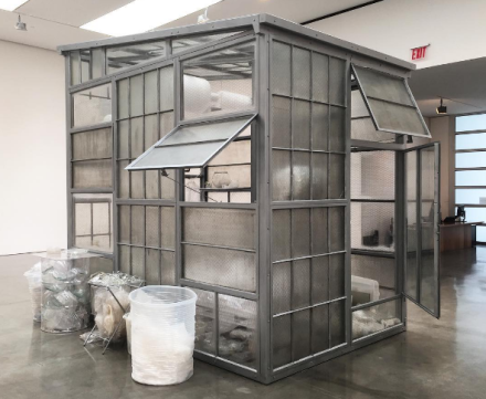 Robert Therrien, Transparent Room (2010), via Art Observed