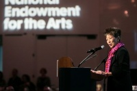 NEA Chairwoman Jane Chu, via Art Newspaper