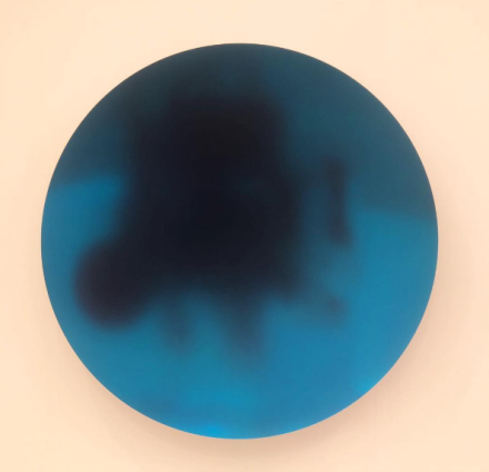 Anish Kapoor at Lisson, via Art Observed