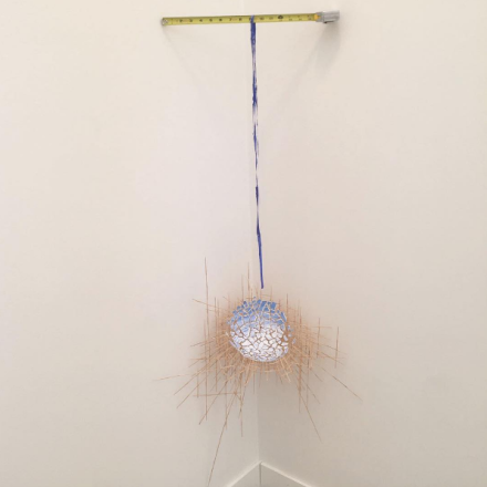 Sarah Sze at Tanya Bonakdar, via Art Observed