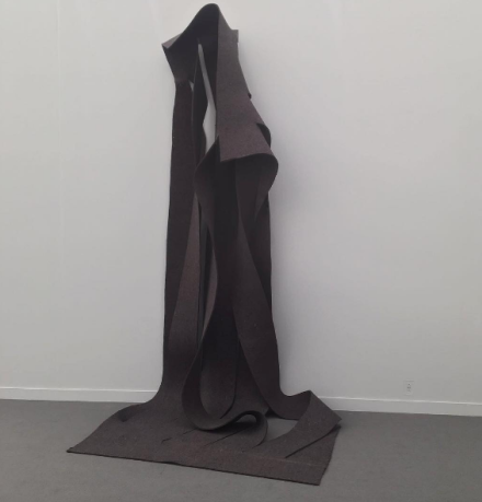 Robert Morris at Castelli Gallery, via Art Observed
