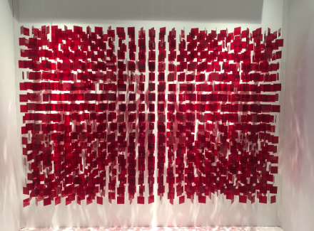 Julio Le Parc at Galeria Sur Puntada del Este, via Art Observed