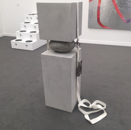 Jose Davila at Sean Kelly, via Art Observed