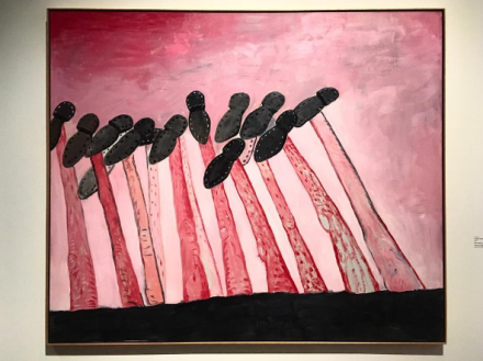 Philip Guston and the Poets (Installation View), via Art Observed