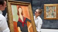 Handlers at Sotheby's, via CNBC
