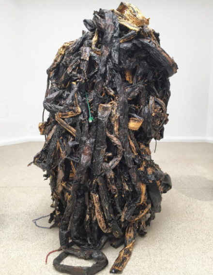 Mark Bradford, Medusa (2016), via Art Observed