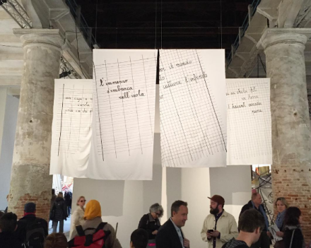 Maria Lai at the Arsenale, via Art Observed