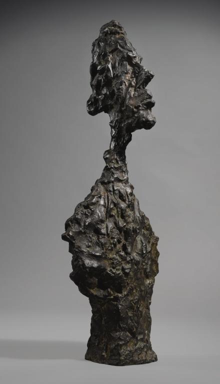 Diego Giacometti, Buste de Diego (1957-58), via Sotheby's
