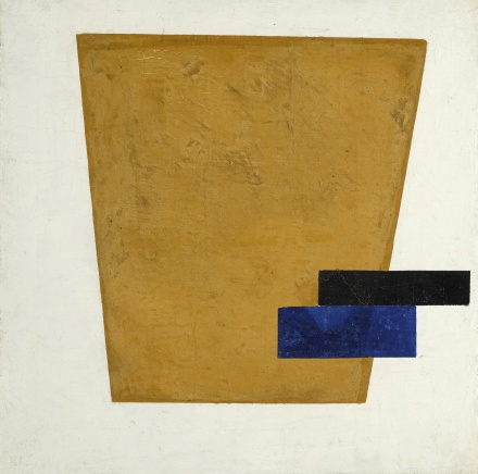 Kazimir Malevich, Suprematist Composition with Plane in Projection (1915), via Sotheby's